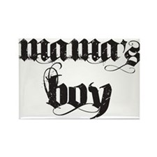 Mama's Boy Rectangle Magnet (10 pack)