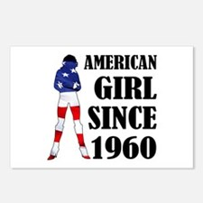 American Girl Since 1960 Postcards (Package of 8)