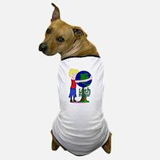 Earth Hugger Boy Dog T-Shirt