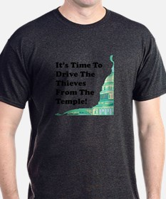 Drive The Thieves From The Temple T-Shirt