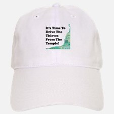 Drive The Thieves From The Temple Baseball Baseball Cap