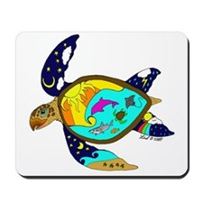 Earth Day Sea Turtle Mousepad