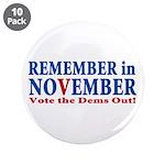 "Vote Republican 2010 3.5"" Button (10 pack)"