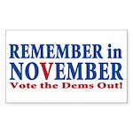 Vote Republican 2010 Sticker (Rectangle 10 pk)
