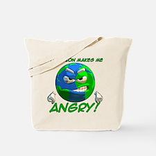Angry Earth Tote Bag