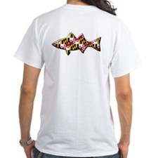 The Maryland Flag Fish Shirt