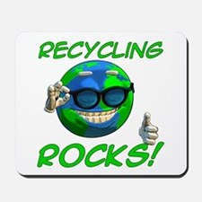 Recycling Rocks! Mousepad