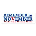 Vote Republican 2010 Sticker (Bumper)