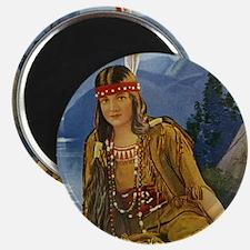 Indian Maiden Magnet