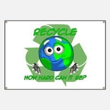 Earth Guy - Recycle Banner
