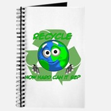 Earth Guy - Recycle Journal