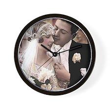 WEDDING COUPLE Wall Clock