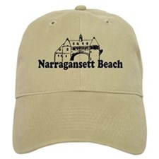 Narragansett RI - Lighthouse Design Cap