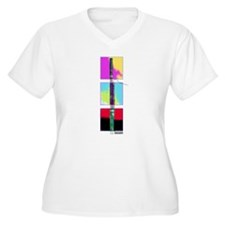 Colorful Bassoon Women's Plus V-Neck Tee