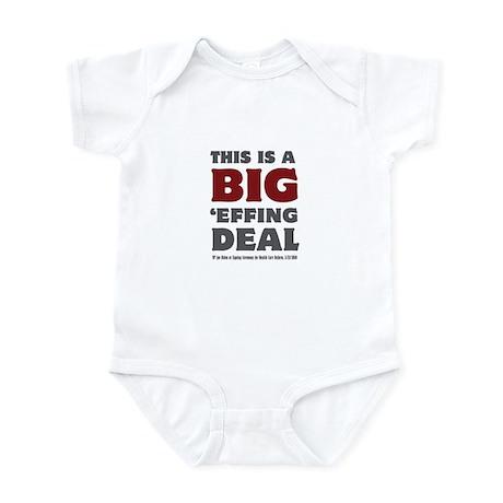 Joe Biden's Big Effing Deal Infant Bodysuit