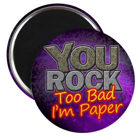 "You Rock 2.25"" Magnet (100 pack)"