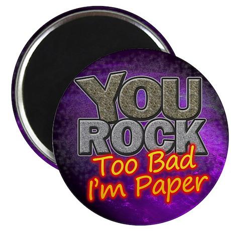 "You Rock 2.25"" Magnet (10 pack)"