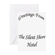 Silent Shore Hotel Greeting Card