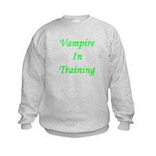 Vampire In Training Sweatshirt
