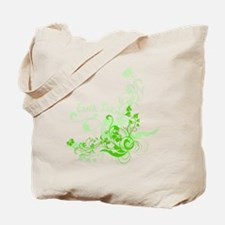 Earth Day Swirls Tote Bag