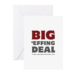 Joe Biden Big Effing Deal Greeting Cards (Pk of 20
