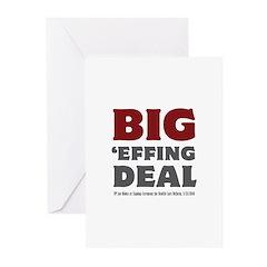 Joe Biden Big Effing Deal Greeting Cards (Pk of 10