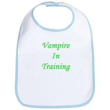 Vampire In Training Bib