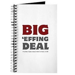 Joe Biden Big Effing Deal Journal