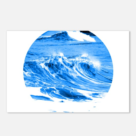 Pacific Waves Postcards (Package of 8)