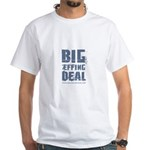 Grunge/Biden Big Effing Deal White T-Shirt
