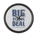 Grunge/Biden Big Effing Deal Large Wall Clock