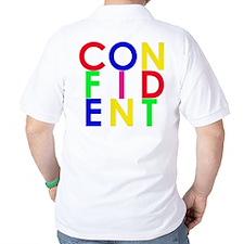 Confident (Multi-Color) T-Shirt