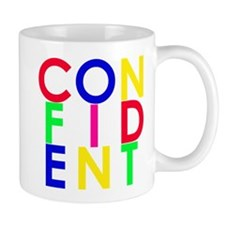 Confident (Multi-Color) Small Mug