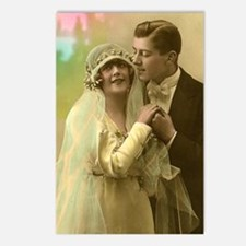 WEDDING COUPLE Postcards (Package of 8)