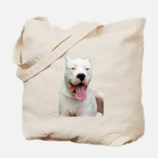 Cute Dogo argentino Tote Bag