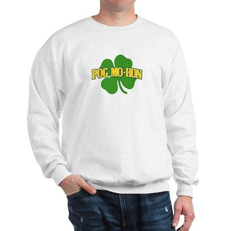 Kiss My Ass in Gaelic Sweatshirt