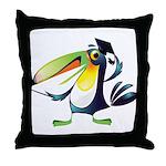 Tikal the Toucan Throw Pillow