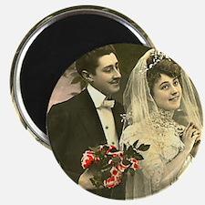 VINTAGE WEDDING COUPLE Magnet