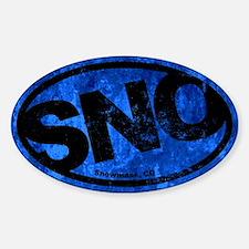 Snowmass Colorado Sticker (Oval)