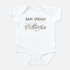 Vintage San Diego Infant Bodysuit