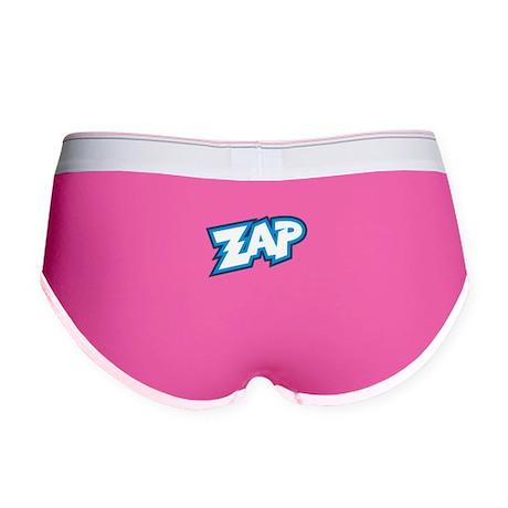 Zap Splat Pow Boom Cartoon Women's Boy Brief