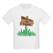 Keep Off My Grass Weed T-Shirt