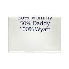 100% Wyatt Rectangle Magnet (10 pack)