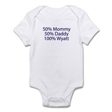 100% Wyatt Infant Bodysuit