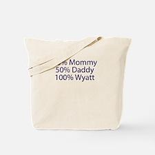 100% Wyatt Tote Bag