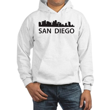 San Diego Skyline Hooded Sweatshirt