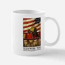 Teamwork Wins Mug