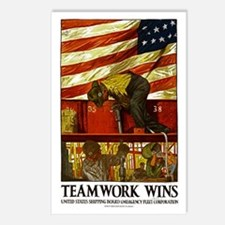 Teamwork Wins Postcards (Package of 8)