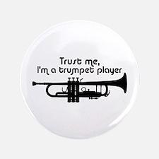 "Trumpet Player 3.5"" Button"