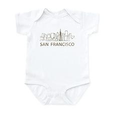Vintage San Francisco Infant Bodysuit